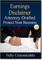 Download Attorney-Drafted Earnings Disclaimer