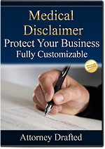 Download Medical Health Disclaimer Attorney-Drafted