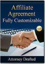 Affiliate Agreement Template