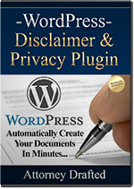 WordPress Disclaimer & Privacy Policy Plugin