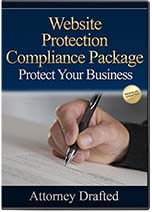 Website Protection and Compliance Package #1 - One Time Charge