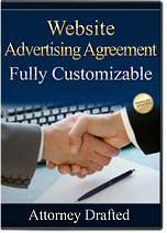Website Advertising Agreement