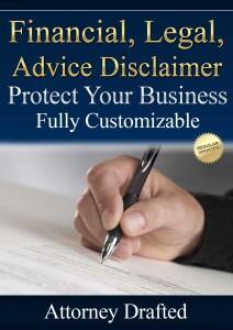 financial disclaimer