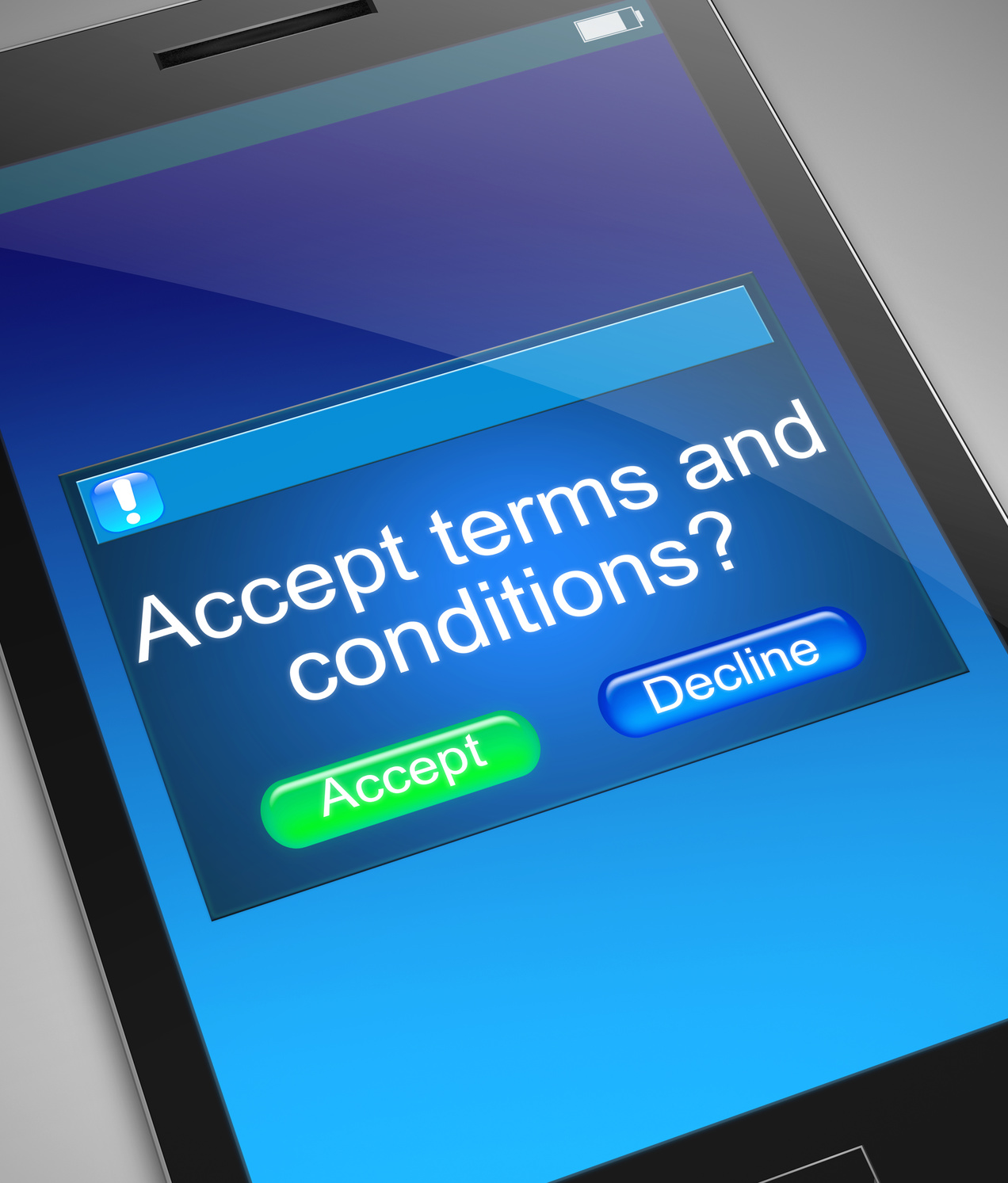 Enforcing Your Website Terms And Conditions
