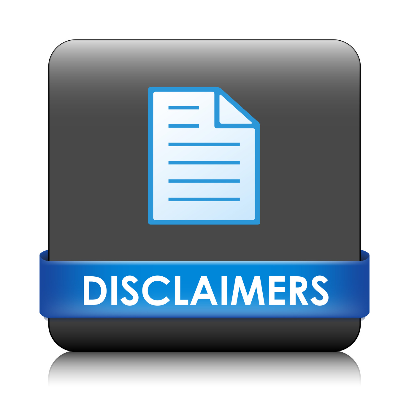Website Disclaimers And Terms Of Use
