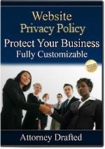 Website Privacy Notice Option 3