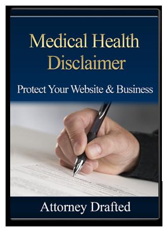 Medical Health Disclaimer