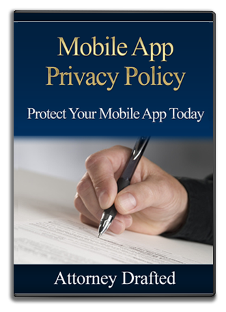 Mobile App Privacy Notice Package Option 3